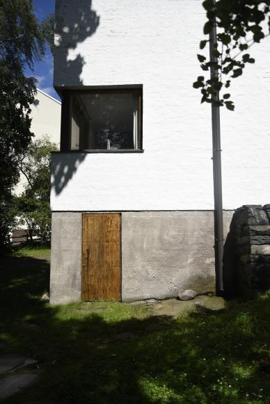Alvar Aaltos trädgård.
