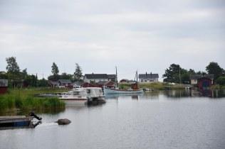 Hamnen på Aspö.