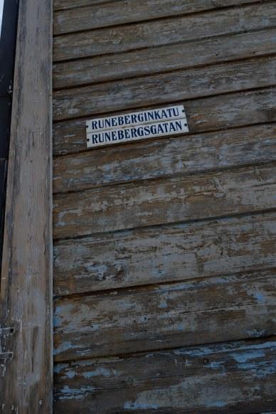 Johan Ludvig Runeberg har fått ge namn åt gatan där han bodde.
